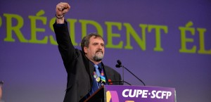 New CUPE President Mark Hancock.